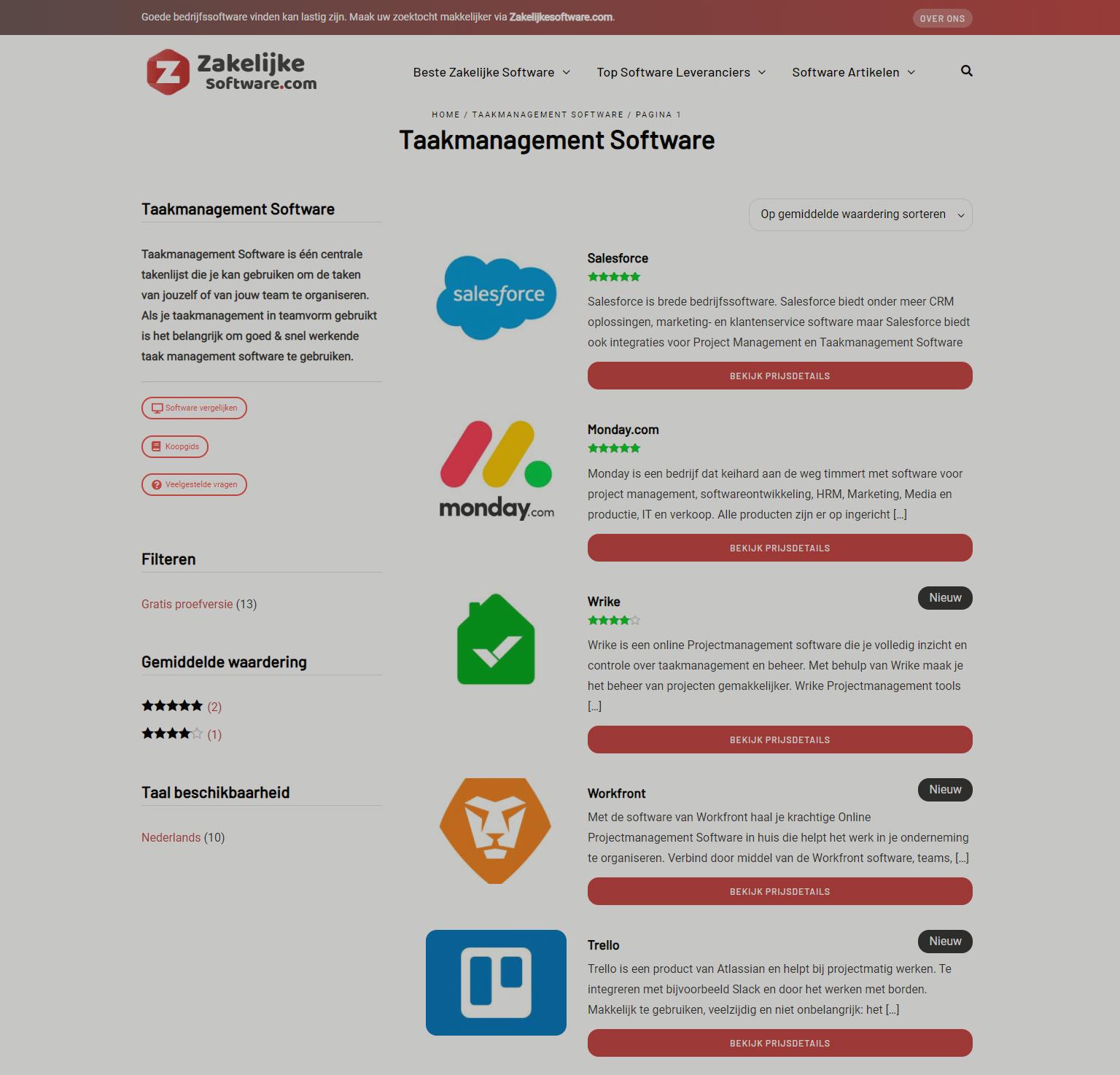 Zakelijkesoftware.com